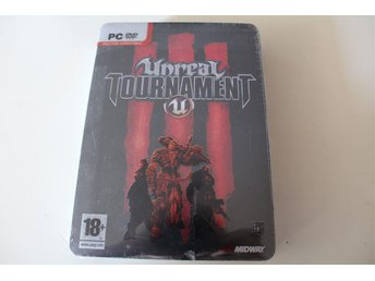 Unreal Tournament III 3 Collector's Special Edition NYTT!