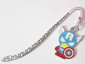 Captain America bokmärke / Captain America bookmark