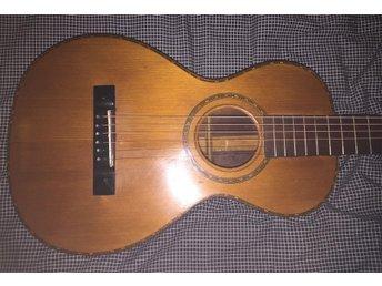 Svensktillverkad Levin Parlour Gitarr Från 1927 - Borås - Svensktillverkad Levin Parlour Gitarr Från 1927 - Borås
