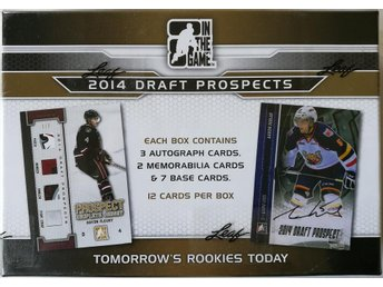 2014 In The Game Draft Prospects NHL Hobby Box - Rönninge - 2014 In The Game Draft Prospects NHL Hobby Box - Rönninge