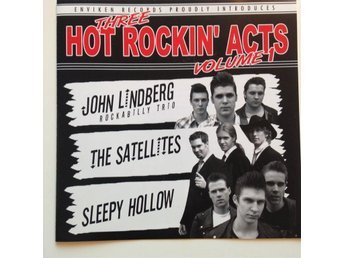 Three Hot rockin Acts, vol. 1 - Enviken records, Rockabilly