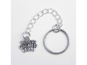 World's greatest mom nyckelring / keyring