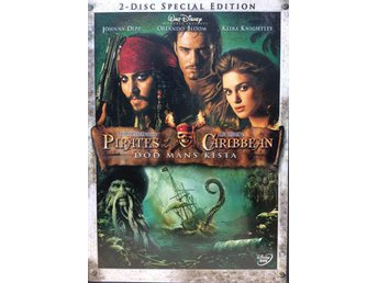 Pirates of the Caribbean 2: Död Mans Kista 2-disc Special Ed. 2006  DVD Äventyr