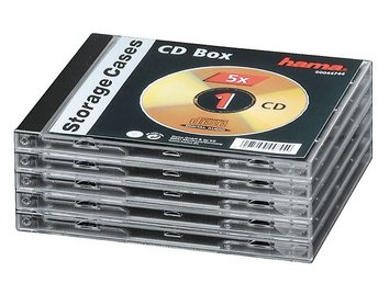 HAMA CD-Box standard 5-pack
