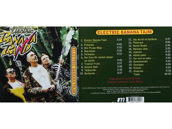 Electric Banana Band, Electric Banana Tajm (CD)