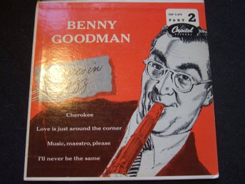 EP - BENNY GOODMAN. Classics in Jazz. Part 2. 1955