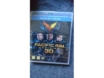 Ny Pacific Rim Uprising Blue-ray 3D