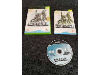 Metal gear solid 2 xbox