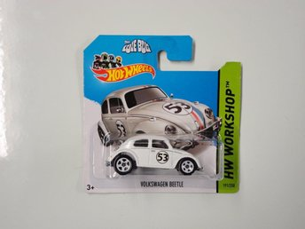 "Hot Wheels 2014 VW Herbie ""The Love Bug"" Volkswagen Beetle"