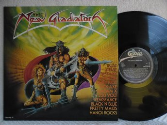 VARIOUS - THE NEW GLADIATORS - EPC 26283 - PRETTY MAIDS