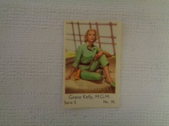 Nr 76 Grace Kelly- Serie S 1957- Stor text.