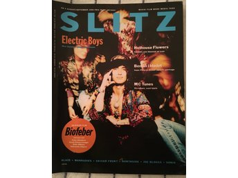 SLITZ nr 4 1990 med Electric Boys - Hothouse Flowers - Robin Williams m m