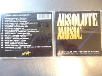 ABSOLUTE MUSIC NR 1. CD I GOTT SKICK