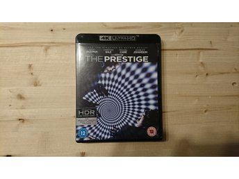 The Prestige 4K UHD UltraHD Bluray 3 Disc Nolan