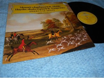 Amadeus-Quartet Mozart & Haydn (LP) DG digital NM/EX - Göteborg - Amadeus-Quartet Mozart & Haydn (LP) DG digital NM/EX - Göteborg