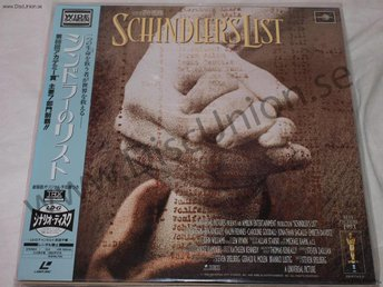 SCHINDLERS LIST - WIDESCREEN JAPAN LD