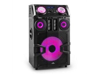 Malone giga party 1500 DJ-party-ljudsystem 480w bluetooth UKW USB aux mp3 - Berlin - Malone giga party 1500 DJ-party-ljudsystem 480w bluetooth UKW USB aux mp3 - Berlin