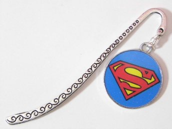 Superman bokmärke / Superman bookmark
