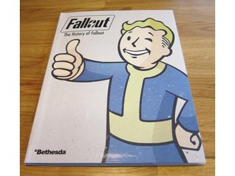 Fallout bok - The History of Fallout + CD med soundtrack (Fallout 4)