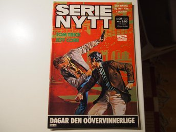 Serie-Nytt 1976:24 Mycket Fint Skick FN-VF - Gustafs - Serie-Nytt 1976:24 Mycket Fint Skick FN-VF - Gustafs