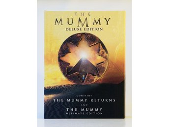 The Mummy Deluxe Edition DVD (The Mummy Ultimate Ed. & The Mummy Returns) BOX - Hässelby - The Mummy Deluxe Edition DVD (The Mummy Ultimate Ed. & The Mummy Returns) BOX - Hässelby