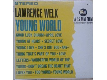 Lawrence Welk title*Young World* Folk, World, & Country LP US