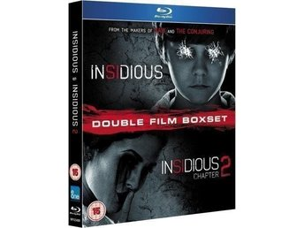 Insidious 1 and 2 Blu-ray Ny & Inplastad