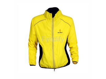 Cykeljacka Outdoor Cycling Jersey Gul L Breathable