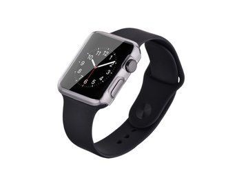 Devia Apple Watch 38mm silikonskal - Transparent