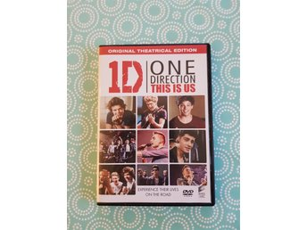 "DVD 1D One Direction "" This is us"""