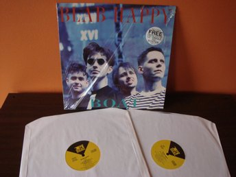 "Blab Happy: Boat. 1991 Lp, Limited Edition (album +12""+poster). Indie pop/rock"