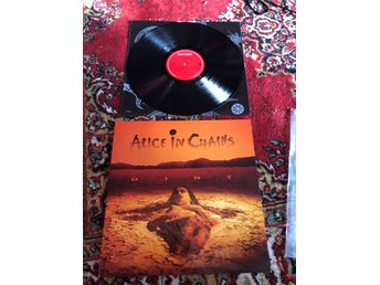 Alice in Chains - The Dirt LP 1992 (Columbia Rec)