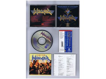 WINGER-In the heart of the young(Äckligt bra New YorkAOR/hardrock!)JAP CD