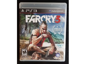 FARCRY 3 / PS3 - Ubisoft / PLAYSTATION 3 / action / FPS