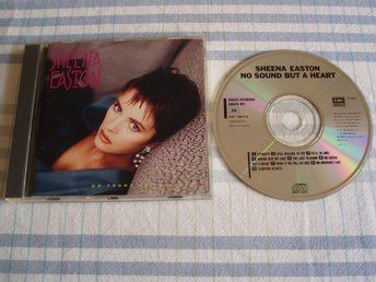 Sheena Easton – No Sound But A Heart, EMI America – CDP 7-46417-2,UK 1987