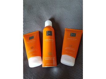 Rituals, ritual, happy buddha, sweet orange and cedar, nya! 2×150ml och 1x200ml.