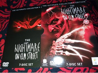 Nightmare on Elm Street Ultimate Collectors Edition 7 disc