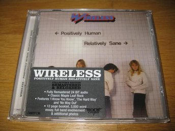 WIRELESS - Positively human, relatively sane CD 1980/2011
