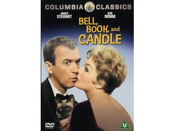 Bell Book and Candle - Hokus Pokus. Svensk text - Kim Novak - Inplastad!