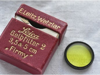 "Leica gulfilter 2 ""FIRMY"" 19 mm i originalbox"