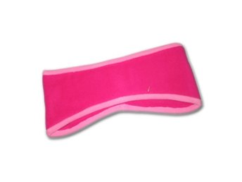 Fleece pannband - Cerise