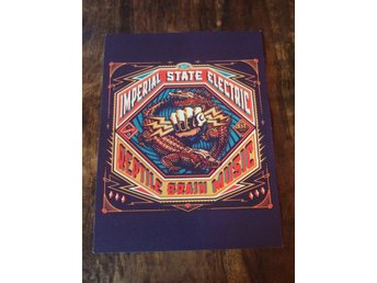 Poster / Imperial State Electric, Reptile Brain Music (30 x 40 cm)