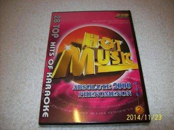 KARAOKE - HOT MUSIC VOL 2 ABSOLUTE 2000 (NY INPLASTAD) - åstorp - KARAOKE - HOT MUSIC VOL 2 ABSOLUTE 2000 (NY INPLASTAD) - åstorp