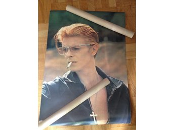 David Bowie poster The man who fell to earth film lot New Mexico 1975 - årsta - David Bowie poster The man who fell to earth film lot New Mexico 1975 - årsta