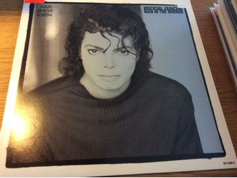 Michael Jackson Man in the mirror 12""
