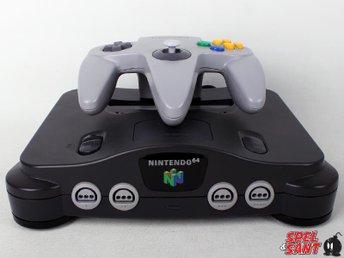 Nintendo 64 (inkl. Original Styrspak) - Norrtälje - Nintendo 64 (inkl. Original Styrspak) - Norrtälje