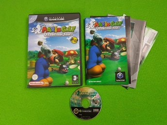 Mario Golf Toadstool Tour ENGELSK UTGÅVA GameCube Game Cube
