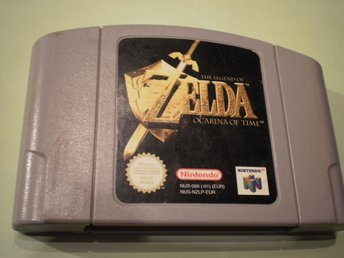 The Legend Of Zelda Ocarina Of Time - N64 / Nintendo 64