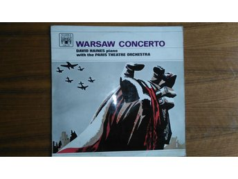 WARSAW CONCERTO David Haines Piano MARBLE ARCH, UK 1958 LP