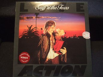 LP - SNIFF ´N´THE TEARS. Action. 1981